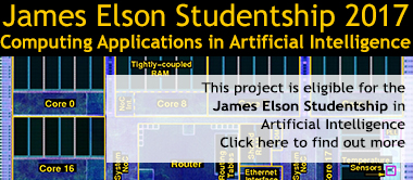 James Elson studentship advertisement image